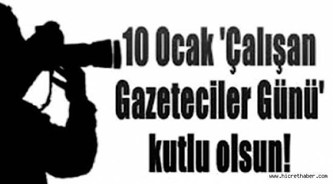 10 Ocak Gazeteciler Günü hakkında bilinmesi gerekenler…