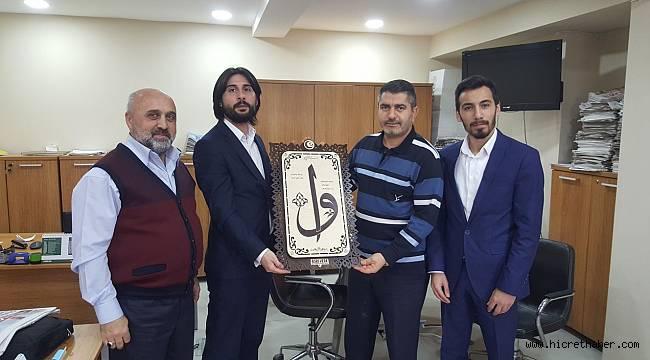 Asrı Vefa Derneği Yönetimi 10 Ocak gazeteciler Günü kutladı