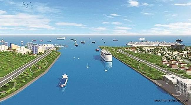 """""""Çılgın proje: Kanal İstanbul"""" hayata geçiyor."""