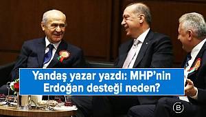 MHP'nin Erdoğan desteği neden?