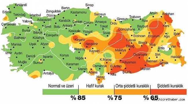 Türkiye'de 44 yıldır böylesi görülmedi… Korkutan harita paylaşıldı…