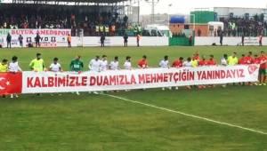 Amedspor, Mehmetçik Pankartıyla Oyuna Start Verdi