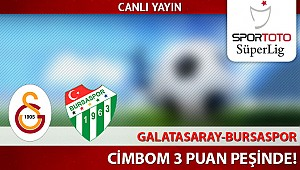 Bursaspor Galatasaray Maçı