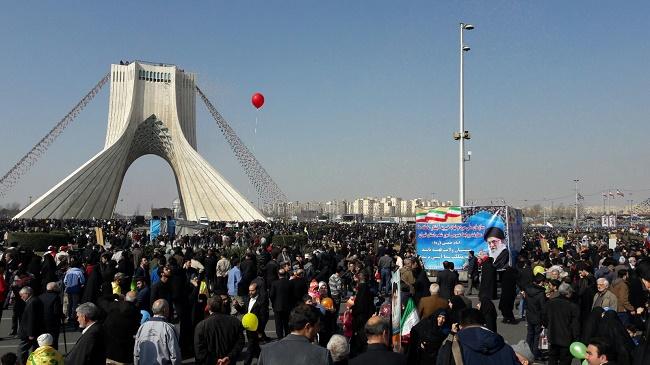 İran İslam Devrimi'ne Milyonlar Sahip Çıktılar