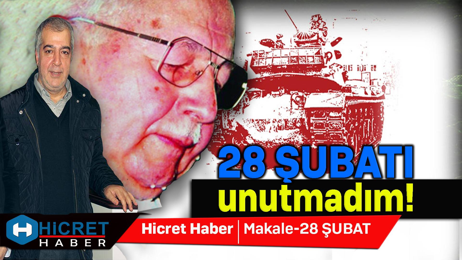 Recai Yurdan 28 Şubatı Unutmadık Unutmayacağız Dedi
