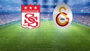 Süper Lig'de Galatasaray Sivasspor Karşılaşacak