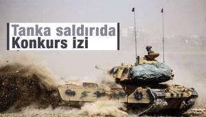 TSK'ya ait Leopard Tanka saldırıda Konkurs izi