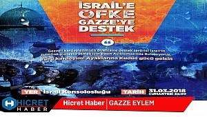 İstanbul Bu Akşam Gazze İçin İsrail'e Abluka Uygulayacak