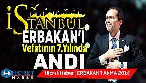 İstanbul Erbakan'ı Andı
