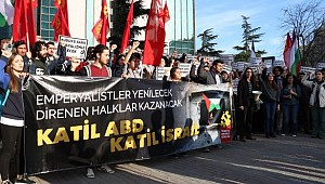 TKG'den Filistin'le Dayanışma Eylemi