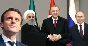 Çavuşoğlu'ndan Macron'a Tepki