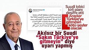 """Akılsız bir Suudi """"Sakın Türkiye'ye gitmeyin"""" diye uyarı yapmış"""