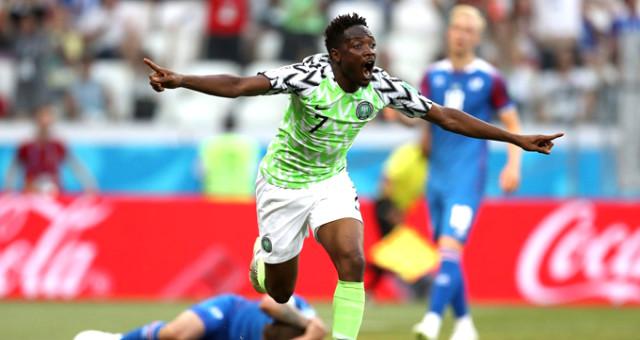 Dünya Kupasında Nijerya, İzlanda'yı 2 Golle Geçti