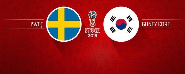 İsveç - Güney Kore Son Dakika