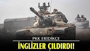 PKK eridikçe İngilizler çıldırdı!