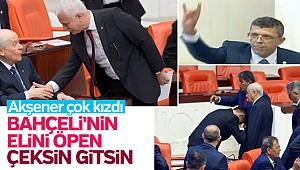 Akşener Bahçeli'nin elini öpenler İYİ Parti'yi terk etsin