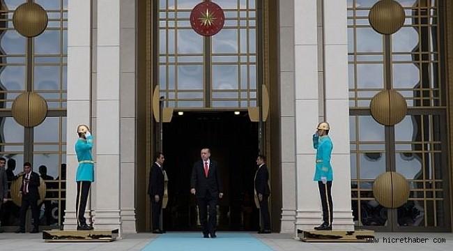 Başkan göreve başlıyor! Ankara'da tarihi anlar...