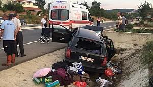 Gurbetçi Vatandaş Kaza Yaptı Acı haber Geldi