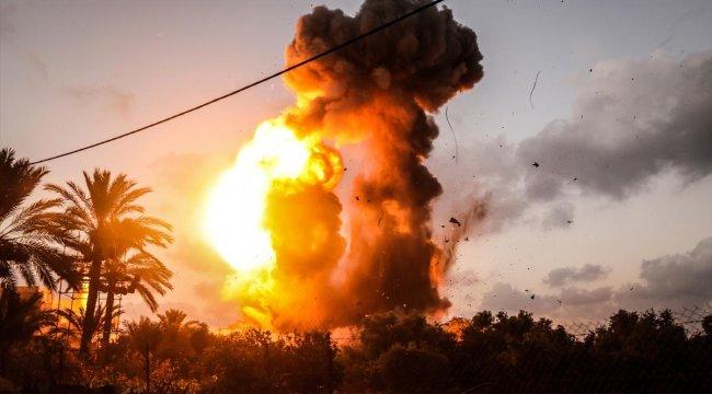 İsrail ordusu: Gazze'de Hamas'a ait 60 hedefe saldırdık