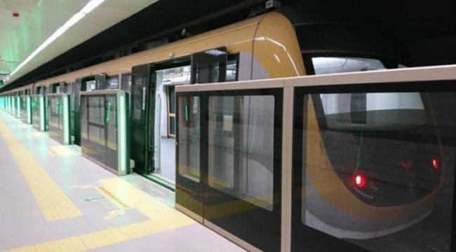 Sürücüsüz metro 3 gün daha test sürüşü yapacak
