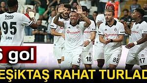 Beşiktaş: 6 - B36 Torshavn: 0