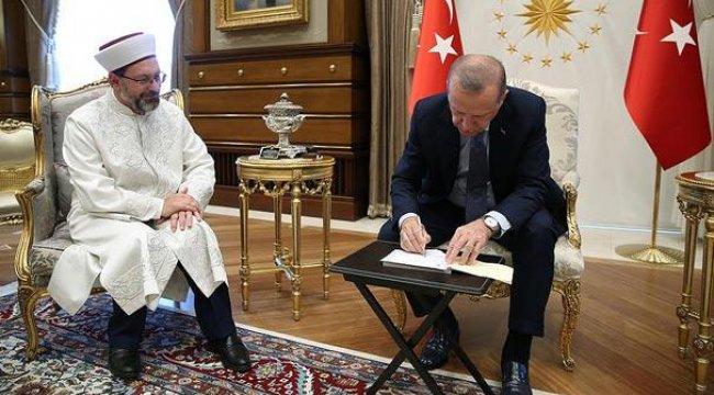 Cumhurbaşkanı Erdoğan'dan kurban bağışı