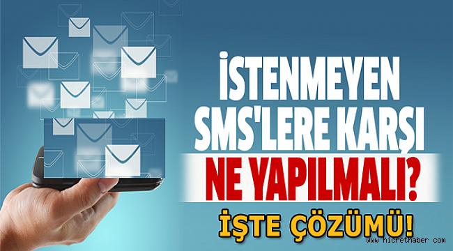 İstenmeyen Spam SMS'leri Engelleyin