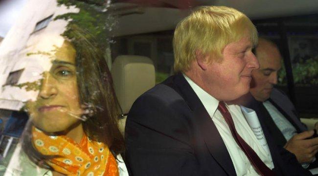 Boris Johnson boşanacağını duyurdu