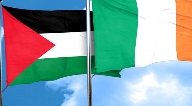 İrlanda'dan Filistin'e sıcak mesaj