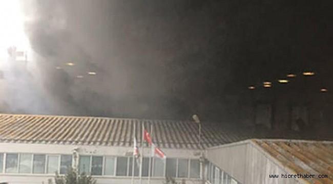 istanbul sefaköy de 4 katlı bir fabrikada yangın çıktı.