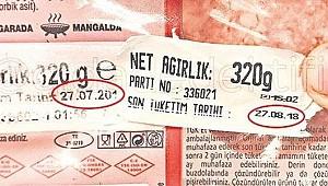 Migros'ta etiketi değiştirilen tarihi geçmiş ürünler