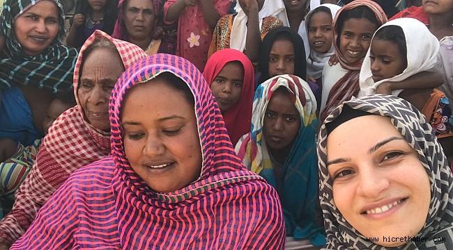 Tuğba Kokum Sudandaki Yetimleri ve yaşamsal sıkıntıları anlattı