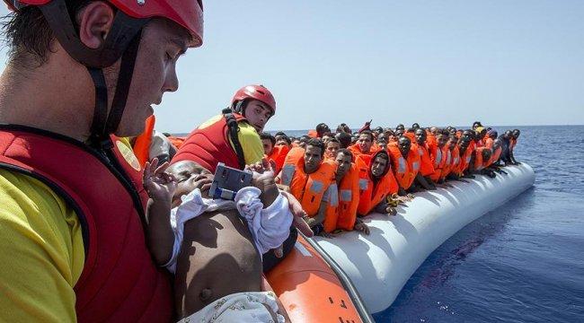 2018'de Avrupa'ya ulaşan göçmen sayısı 100 bini geçti
