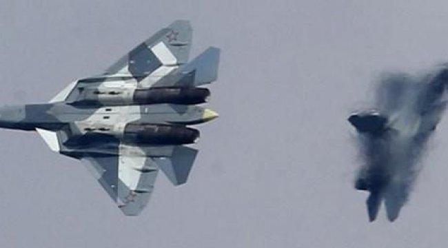 Rusya Suriye'de Su-57 uçurdu