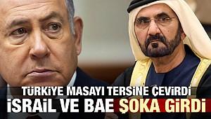 Türkiye'nin hamlesi İsrail ve BAE'yi şoka soktu