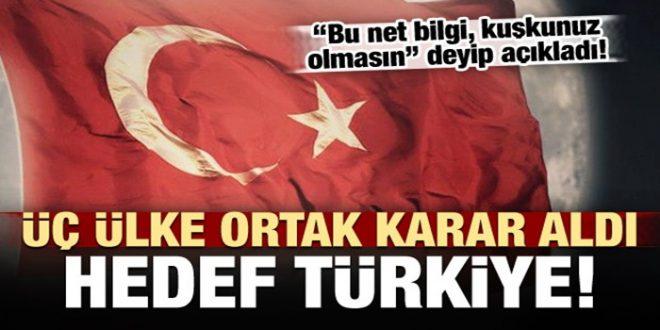 Üç ülke Türkiye'ye oyun hazırlığında