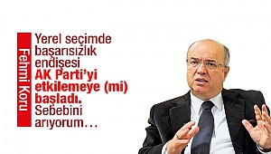 Yerel seçimde başarısızlık endişesi AK Parti'yi etkilemeye (mi) başladı. Sebebini arıyorum…