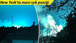 New York'ta esrarengiz mavi ışık paniğe yol açtı! Sebebi belli oldu