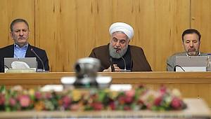 Ruhani'den sert çıkış: İran'a yaptırım uygulayan ülkeleri ikaz ediyorum