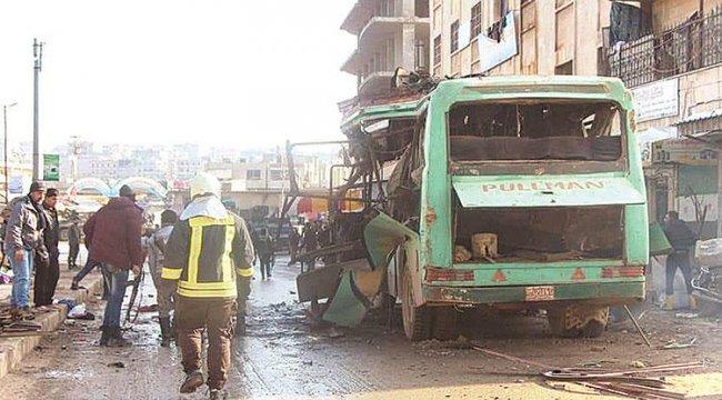 Afrin'de terör saldırısı: 4 ölü