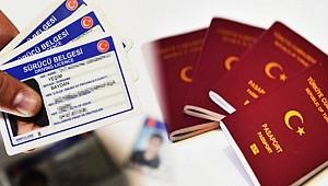 Ehliyet, kimlik ve pasaport ücretlerinde yeni dönem