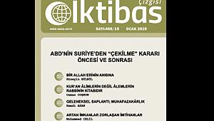 İKTİBAS ÇİZGİSİNİN'NİN OCAK 2019/466-15. SAYISI ÇIKTI