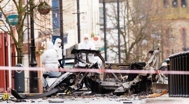 IRA'daki muhalifler patlamada şüpheli