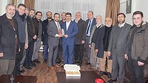 Saadet Partisi den Hicrethaber'e Ziyaret
