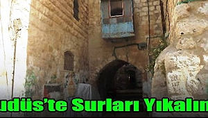 Siyonist yetkili: Kudüs'te surları yıkalım!