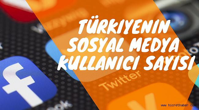 Sosyal medya kullanıcı sayısında Türkiye 38 milyon ile dünyada 13. sıraya yükseliyor