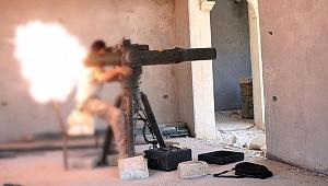 Terör örgütü YPG/PKK ABD yapımı anti-tank füzesiyle ÖSO'ya saldırdı