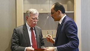 Ulusal Güvenlik Danışmanı John Bolton Türkiye'den ayrıldı