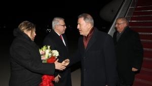 Bakan Akar ve Genelkurmay Başkanı Güler Washington'da