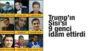 Darbeci Sisi 9 genci idam ettirdi